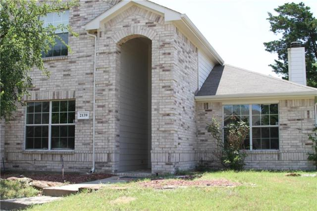 2139 Fair Weather Drive, Lancaster, TX 75146 (MLS #13857927) :: The Chad Smith Team