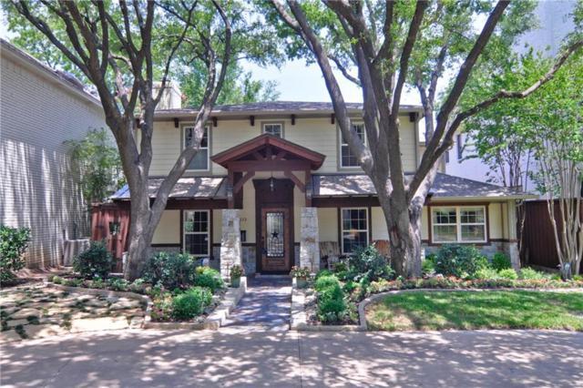 1613 Ashland Avenue, Fort Worth, TX 76107 (MLS #13858279) :: The Chad Smith Team