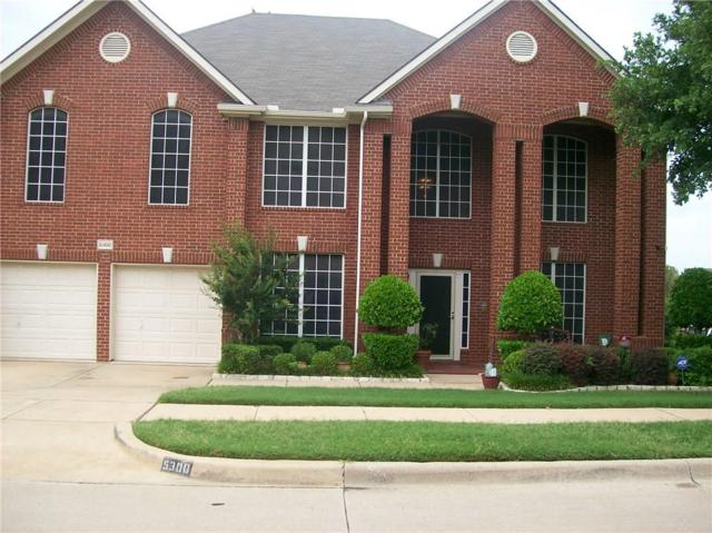 5300 Sunnyway Drive, Fort Worth, TX 76123 (MLS #13858400) :: HergGroup Dallas-Fort Worth