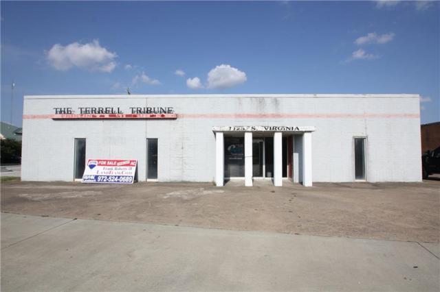 1125 S Virginia Street, Terrell, TX 75160 (MLS #13858959) :: RE/MAX Landmark