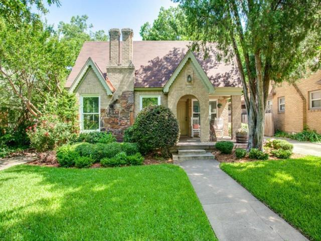 5611 Monticello Avenue, Dallas, TX 75206 (MLS #13859202) :: The Chad Smith Team
