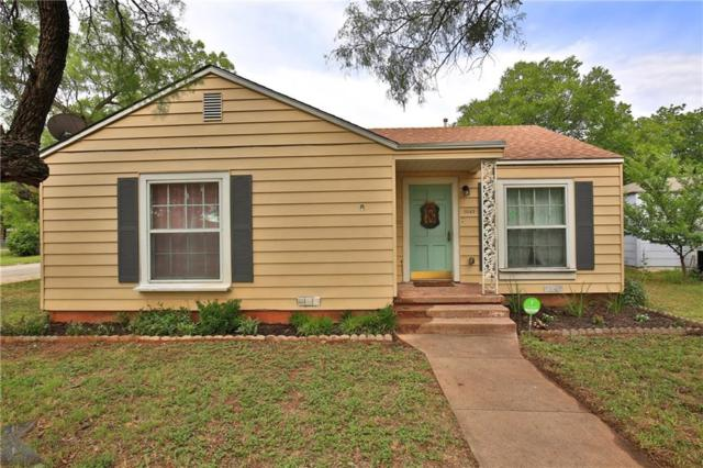 1042 Blair Street, Abilene, TX 79605 (MLS #13860121) :: Baldree Home Team