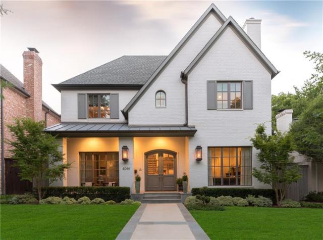 4044 Purdue Avenue, University Park, TX 75225 (MLS #13860127) :: Team Hodnett
