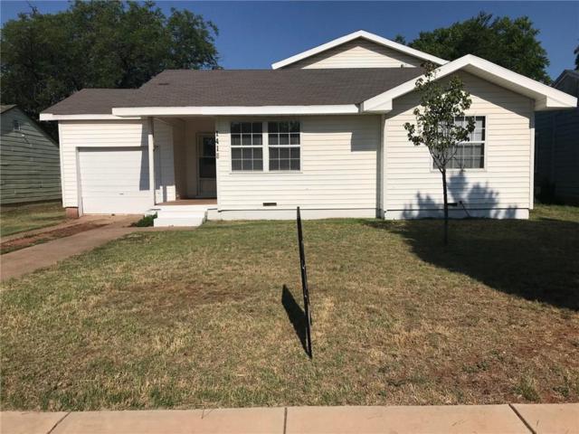 1418 Green Street, Abilene, TX 79603 (MLS #13860189) :: Team Hodnett