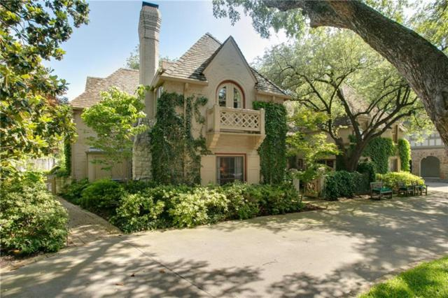 4311 Arcady Avenue, Highland Park, TX 75205 (MLS #13861935) :: RE/MAX Town & Country