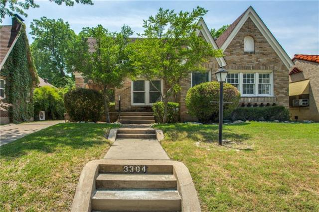 3304 Cockrell Avenue, Fort Worth, TX 76109 (MLS #13862337) :: RE/MAX Landmark