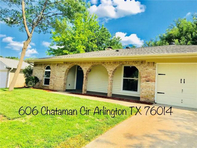606 Chatam Circle, Arlington, TX 76014 (MLS #13863004) :: The Chad Smith Team