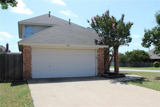 241 Overleaf Drive, Keller, TX 76248 (MLS #13863589) :: Team Hodnett