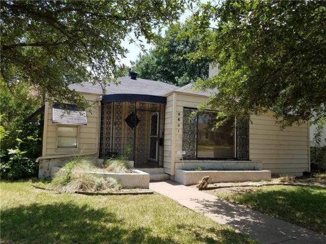 5601 Pershing Avenue, Fort Worth, TX 76107 (MLS #13866148) :: The Chad Smith Team