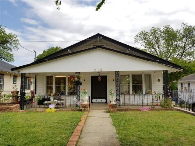 714 N Beckley Avenue, Dallas, TX 75203 (MLS #13866665) :: Team Hodnett