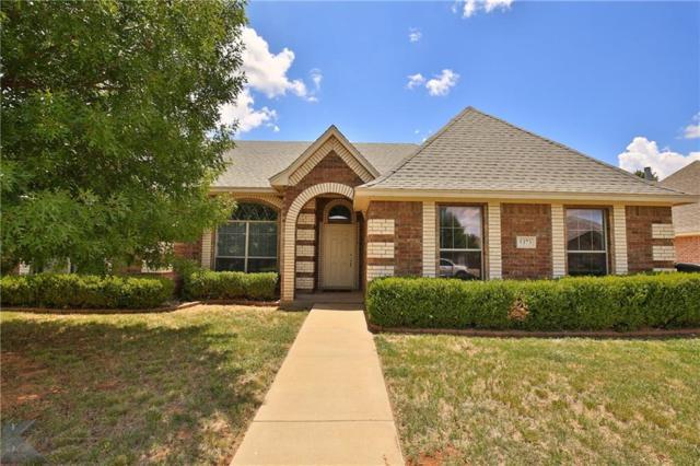 5373 Wagon Wheel Avenue, Abilene, TX 79606 (MLS #13867050) :: Team Hodnett