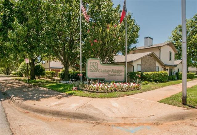 606 Ridgeline Drive, Hurst, TX 76053 (MLS #13867388) :: The Chad Smith Team