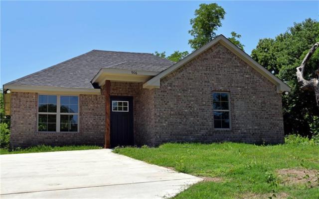906 W Johnson Street, Denison, TX 75020 (MLS #13867770) :: Baldree Home Team