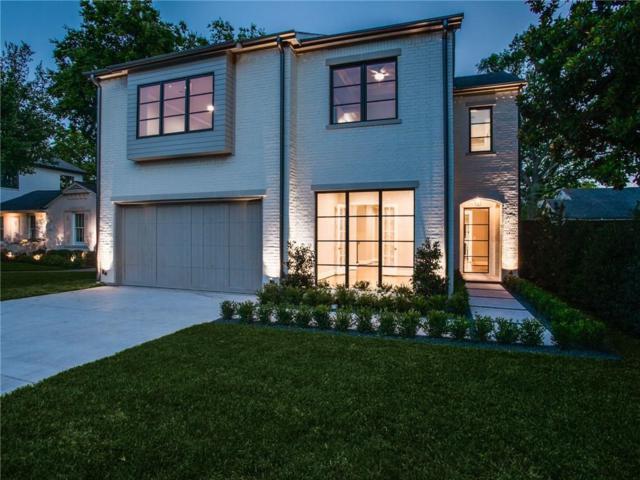 4722 Purdue Avenue, Dallas, TX 75209 (MLS #13868075) :: NewHomePrograms.com LLC