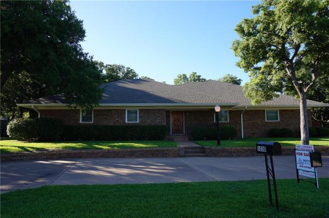 1030 Normandy Drive, Graham, TX 76450 (MLS #13868306) :: RE/MAX Town & Country