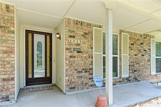1013 Goodwin Drive, Plano, TX 75023 (MLS #13868418) :: RE/MAX Town & Country