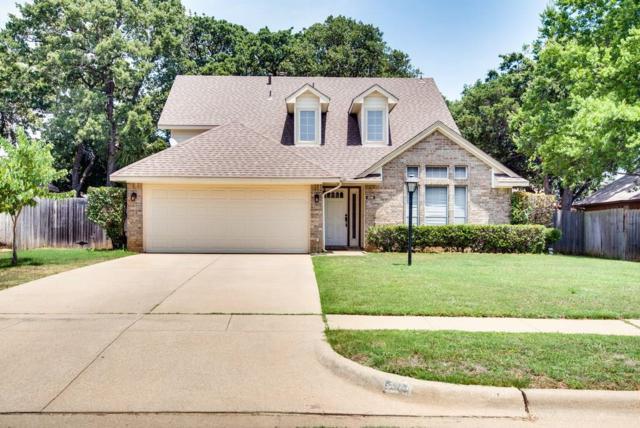 208 Arwine Drive, Hurst, TX 76053 (MLS #13868745) :: The Chad Smith Team