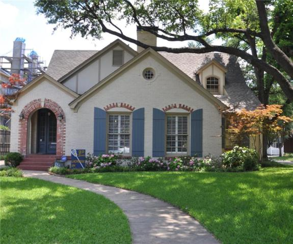 4137 Stanford Avenue, Dallas, TX 75225 (MLS #13869135) :: The Chad Smith Team