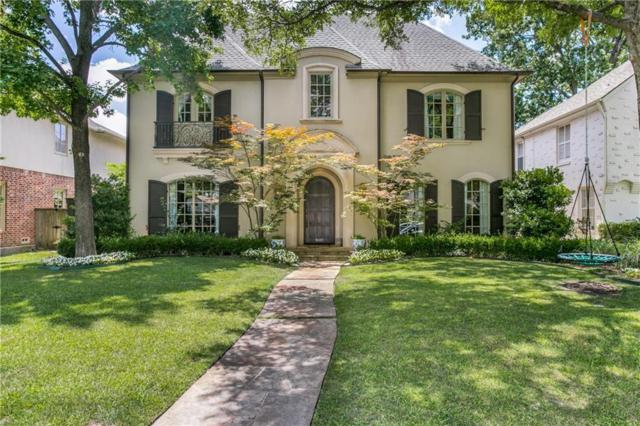 4109 Bryn Mawr Drive, University Park, TX 75225 (MLS #13869464) :: Robbins Real Estate Group