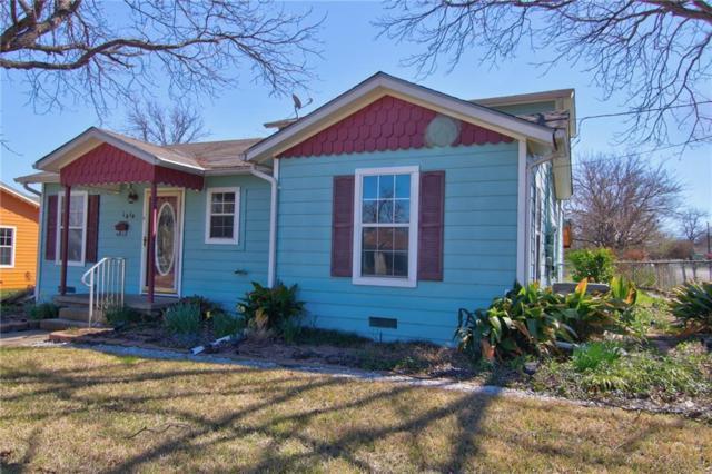 1414 W 3rd Street, Clifton, TX 76634 (MLS #13869485) :: Team Hodnett