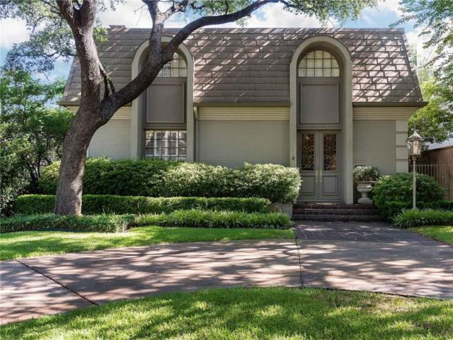 3706 Dartmouth Avenue, Highland Park, TX 75205 (MLS #13869536) :: Robbins Real Estate Group