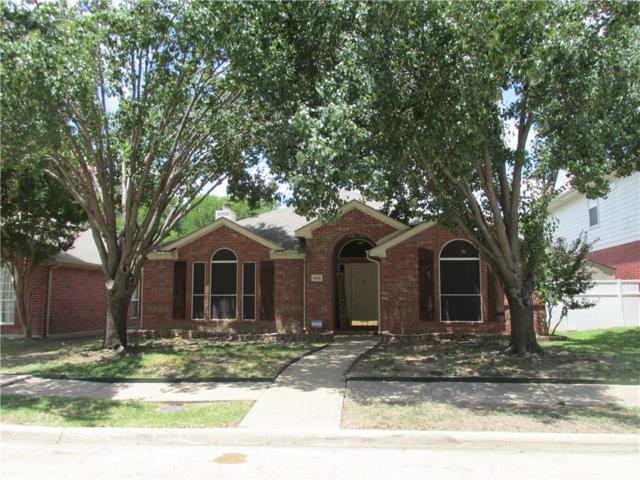 829 Parker Drive, Mesquite, TX 75181 (MLS #13869556) :: RE/MAX Landmark