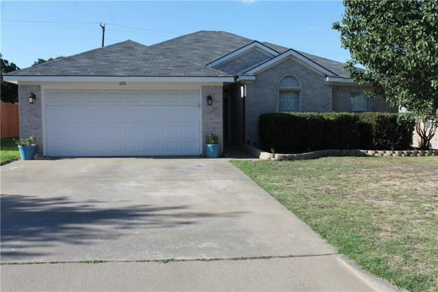 326 Dalhart Drive, Weatherford, TX 76086 (MLS #13869648) :: The FIRE Group at Keller Williams