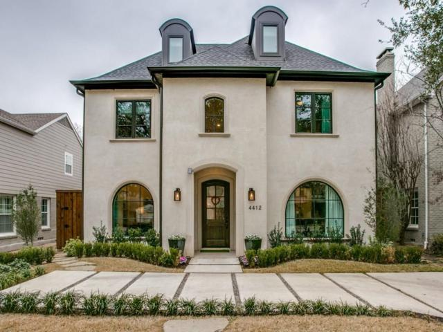 4412 Hyer Street, University Park, TX 75205 (MLS #13869997) :: Robbins Real Estate Group