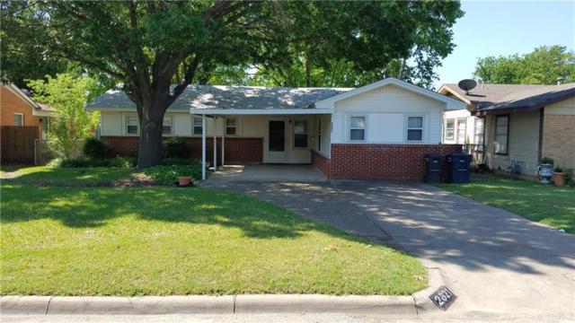 2821 W Boyce Avenue, Fort Worth, TX 76133 (MLS #13870095) :: RE/MAX Landmark