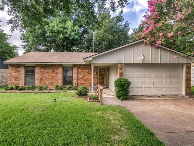 220 Rockcrest Drive, Mesquite, TX 75150 (MLS #13870381) :: Robinson Clay Team