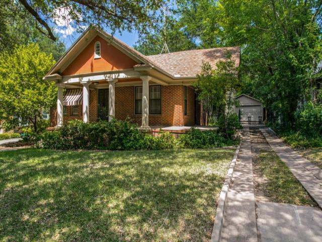 2561 Cockrell Avenue, Fort Worth, TX 76109 (MLS #13870391) :: Robinson Clay Team