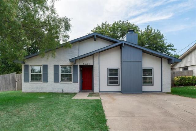 3502 S Edelweiss Drive, Grand Prairie, TX 75052 (MLS #13870637) :: Pinnacle Realty Team
