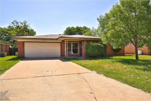 1749 N Willis Street, Abilene, TX 79603 (MLS #13871214) :: RE/MAX Landmark