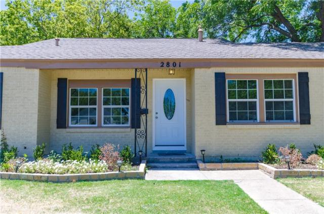 2801 W Biddison Street, Fort Worth, TX 76109 (MLS #13871325) :: Team Hodnett