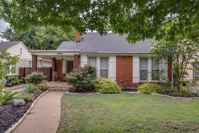 3248 Greene Avenue, Fort Worth, TX 76109 (MLS #13871503) :: Team Hodnett