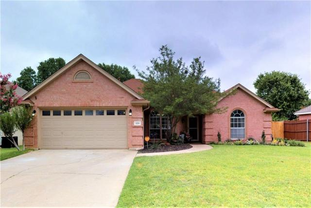 225 Redwood Court, Keller, TX 76248 (MLS #13871517) :: Team Hodnett
