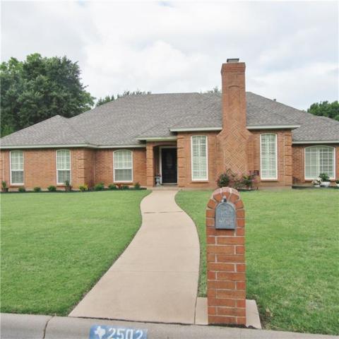 2502 Christopher Drive, Abilene, TX 79602 (MLS #13871610) :: Team Hodnett