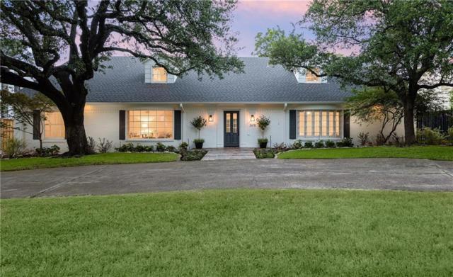 3618 Villanova Street, University Park, TX 75225 (MLS #13872122) :: Frankie Arthur Real Estate