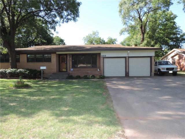 685 Westwood Drive, Abilene, TX 79603 (MLS #13872601) :: The Chad Smith Team