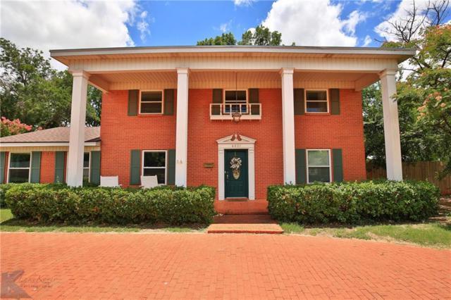 4031 N 10th Street, Abilene, TX 79603 (MLS #13874423) :: Team Hodnett