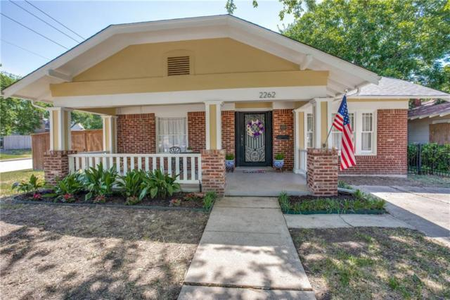 2262 Hurley Avenue, Fort Worth, TX 76110 (MLS #13874489) :: The Real Estate Station