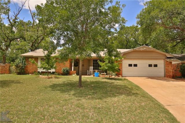 866 Westwood Drive, Abilene, TX 79603 (MLS #13875215) :: The Chad Smith Team