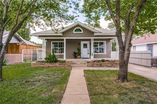 621 Cristler Avenue, Dallas, TX 75223 (MLS #13875257) :: Team Hodnett