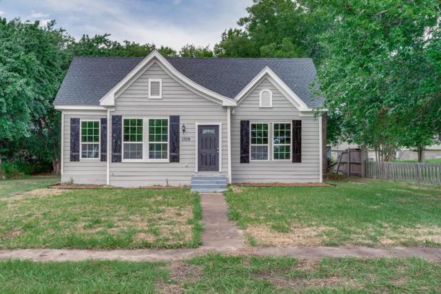 1709 Franklin Avenue, Bonham, TX 75418 (MLS #13875374) :: RE/MAX Town & Country