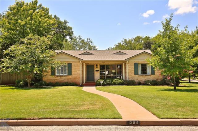 1366 Hollis Drive, Abilene, TX 79605 (MLS #13875377) :: Team Hodnett