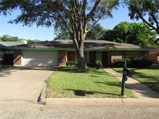 1218 Chriswood Drive, Abilene, TX 79601 (MLS #13876392) :: The Real Estate Station