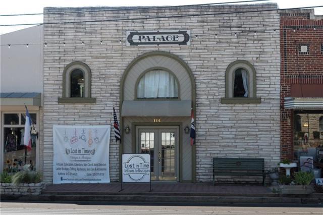114 Barnard Street, Glen Rose, TX 76043 (MLS #13876470) :: The Rhodes Team