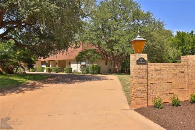 118 Green Meadows Circle, Abilene, TX 79605 (MLS #13876992) :: Team Hodnett