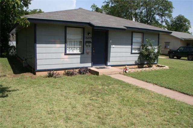 1609 Palm Street, Abilene, TX 79602 (MLS #13877023) :: RE/MAX Landmark