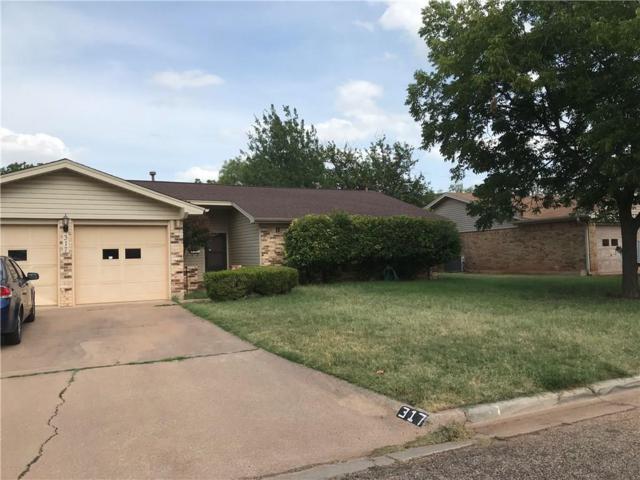 317 Saxon Street, Abilene, TX 79605 (MLS #13877328) :: The Tonya Harbin Team